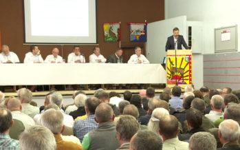 La Fédération valaisanne des sociétés de chasse tenait son assemblée générale après une bonne saison 2017/2018