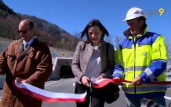 Eyholz: le plus long tunnel autoroutier du Valais a été inauguré à Viège