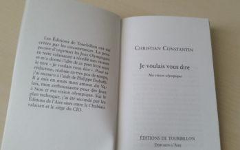 Sion 2026: Christian Constantin distribue son livre plaidoyer à tous les ménages valaisans. L'accueil est mitigé