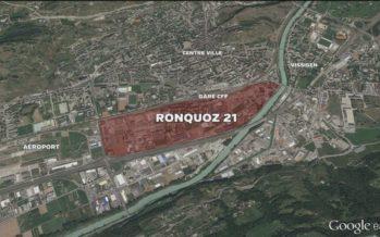 La Ville de Sion présente les grandes lignes du projet Ronquoz 21 et interroge sa population pour cerner ses attentes