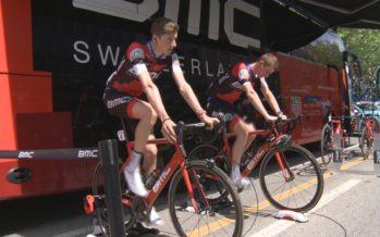Cyclisme: nous avons suivi Kilian Frankiny au TDR lors de l'étape de Sion
