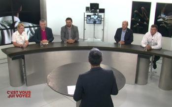 C'EST VOUS QUI VOYEZ: les présidents de partis commentent l'actualité valaisanne