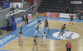 Basket féminin: Elfic Fribourg contre Troistorrents, score final 63 à 60 pour les fribourgeoises