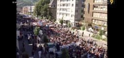 Archive: il y a 20 ans, les étudiants valaisans descendaient dans la rue
