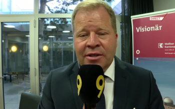 Pierre-Alain Grichting remplace Jean-Daniel Papilloud à la tête de la Banque cantonale du Valais