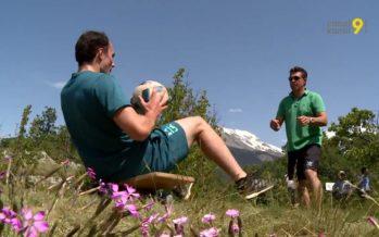 Daniel Yule: «Cet entraînement était l'occasion de montrer comment nous, skieurs professionnels, nous entraînons durant l'été»