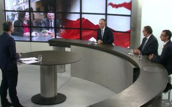 Un an déjà au Gouvernement valaisan! Premier bilan avec Christophe Darbellay, Frédéric Favre et Roberto Schmidt