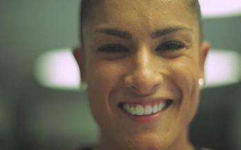 Hors Cadre: avec l'ancienne championne de karaté Fanny Clavien, désormais passionnée de body building
