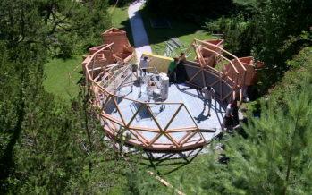 Le 8 septembre prochain le Lycée-Collège des Creusets inaugurera, à Sion, son planétarium quatre saisons