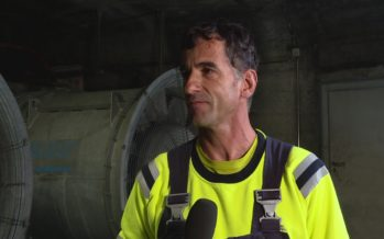 La centrale de ventilation: une installation indispensable en cas d'incident ou de feu dans le tunnel du Grand-Saint-Bernard