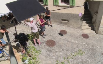 Depuis quelques jours, des équipes de tournage sillonnent la région pour y réaliser un long-métrage intitulé «Tambour battant»
