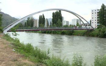 Débit du Rhône: le fleuve sous surveillance en Valais. Les spécialistes sont pour le moment sereins