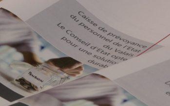 La FMEP se satisfait du projet de réforme de la caisse de pension de l'Etat du Valais, mais demande des mesures d'accompagnement