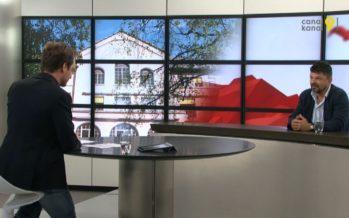 Jean-Paul Felley est le nouveau visage de l'École cantonale d'art du Valais (ECAV). Interview