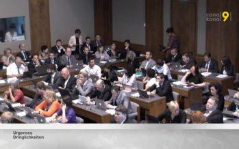 La session du Grand Conseil s'est achevée ce vendredi. Retour sur les points forts de la semaine