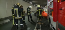 Tunnel du Grand-St-Bernard: un exercice géant mobilise 120 secouristes suisses et italiens