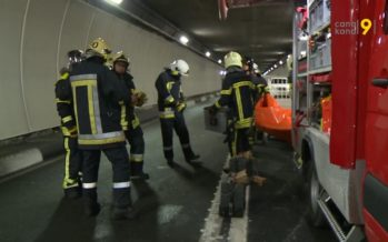 Tunnel du Grand-St-Bernard: un exercice géant mobilise 120 secouristes suisses et italiens