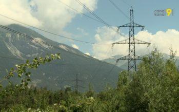 L'association Haute Tension sous Terre a demandé au Gouvernement valaisan de geler les travaux de la ligne THT entre Chamoson et Chippis