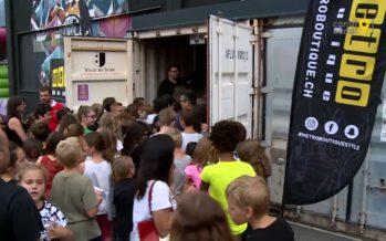 Metro Party: plus de 300 jeunes de 8 à 12 ans ont fait la fête au Port Franc à Sion ce mercredi