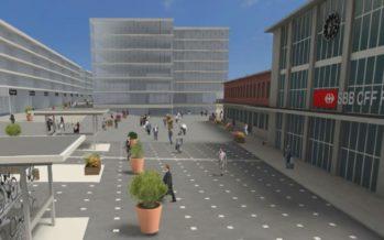 Comment les communes gèrent-elles les gros chantiers? Exemples à Sion avec Cour de gare puis Bagnes et la zone Curala