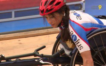 Après ses nombreux titres en handbike, la para-athlète Silke Pan se lance à la conquête de l'athlétisme