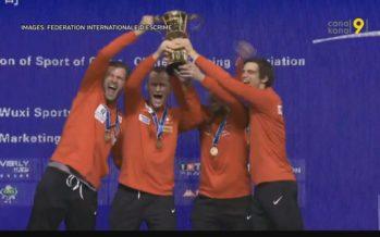 La Suisse sacrée championne du monde d'escrime par équipe masculine
