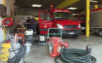 Sion sous des trombes d'eau: «Les pompiers et la PC ont travaillé toute la nuit»