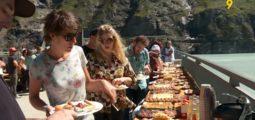 Le Palp Festival invite à bruncher au pied du barrage de Mauvoisin, tout en écoutant du rock psyché