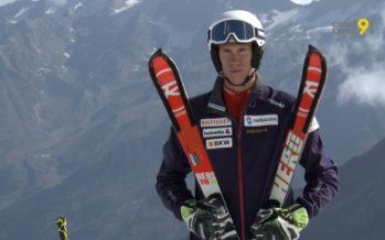 Le médaillé d'or et d'argent aux JO Ramon Zenhäusern est de retour sur les lattes