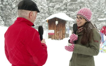 Luges, raquettes, peaux de phoque, patins, ski: en hiver, il y en a pour tous les goûts! Émission spéciale dans la neige à Champex