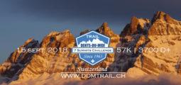 Trail Running: des images magnifiques du «DDM Trail» Trail des Dents du Midi à Champéry