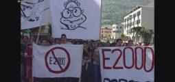 En 1998, entre 2500 et 3000 étudiants manifestaient contre une réforme du système scolaire, du jamais vu en Valais!