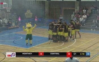 Basket: le BBC Monthey-Chablais s'impose face à Swiss Central Basketball