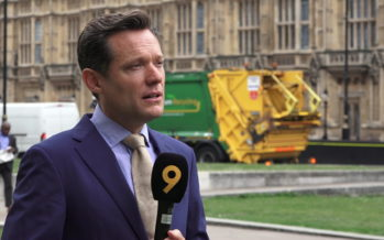 Laurent Burkhalter, correspondant RTS au Royaume-Uni, nous raconte sa vie à Londres