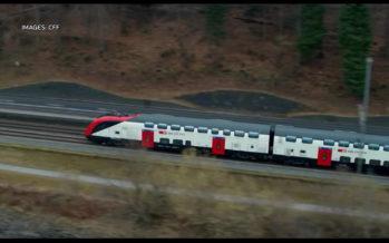 CFF: des trains deux étages en Valais uniquement les week-ends