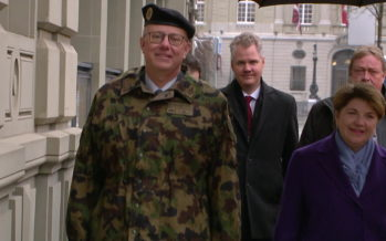 Démission surprise du chef de l'armée suisse Philippe Rebord: le Valaisan quittera son poste à la fin de l'année, pour raisons de santé