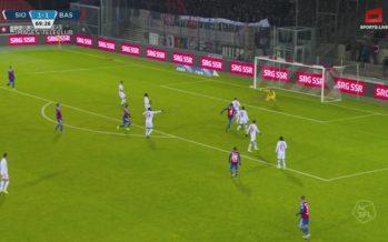 Football:  FC Sion vs. FC Bâle