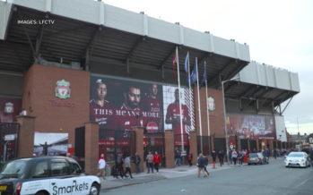 Verbier s'associe au FC Liverpool dans un partenariat commercial! La station valaisanne fera sa promotion dans le stade d'Anfield Road