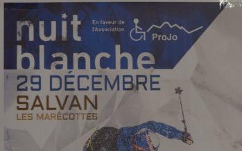 Nuit blanche à Salvan: une soirée de solidarité et de glisse en faveur de l'association ProJo