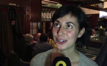 Pauline Epiney, candidate sur la liste PS et Gauche citoyenne, n'est pas élue mais se réjouit pour son parti et ses colistiers
