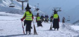 Tradition: 800 sorcières s'emparent des pistes de Belalp