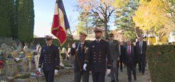 Sierre: autorités politiques et militaires françaises et suisses réunies à la mémoire de la première guerre mondiale