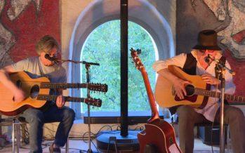 Le centre culturel la Vidondée de Riddes accueille une exposition concert, l'occasion de mêler les univers musicaux de deux musiciens