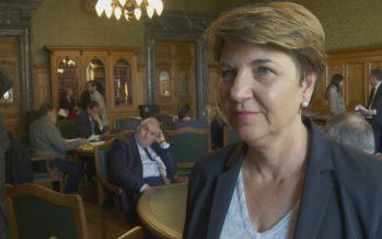 Viola Amherd, succèdera-t-elle à Doris Leuthard? La conseillère nationale démocrate-chrétienne pourrait se porter candidate au Conseil fédéral