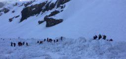 Avalanche à Crans-Montana: les recherches sont interrompues. Une personne est décédée