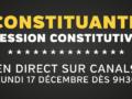 Constituante – Première session en direct