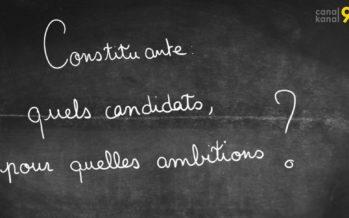 Election de l'assemblée constituante: quels candidats, pour quelles ambitions?
