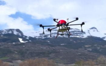L'Ecole d'agriculture du Valais organise un cours sur l'utilisation des drones pour ses apprentis de 2e année