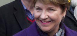 Accueil de Viola Amherd en Valais: tout un canton fait honneur à sa première femme conseillère fédérale