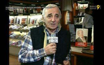 Aznavour est mort. «Je suis resté cinq ans en Valais, mais j'ai trouvé qu'on était loin de l'aéroport…»